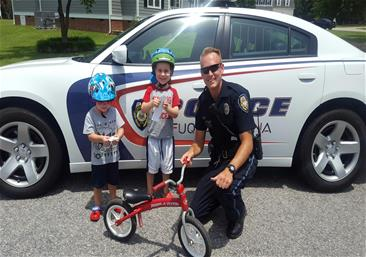 Bicycle Safety with Officer Hamilton