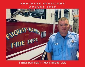 Firefighter II Matthew Lee