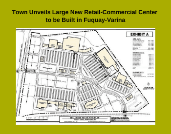 Town Unveils Large New Retail-Commercial Center to be Built in Fuquay-Varina