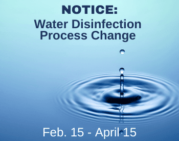 Water Disinfection Process Change