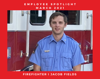 Firefighter I Jacob Fields